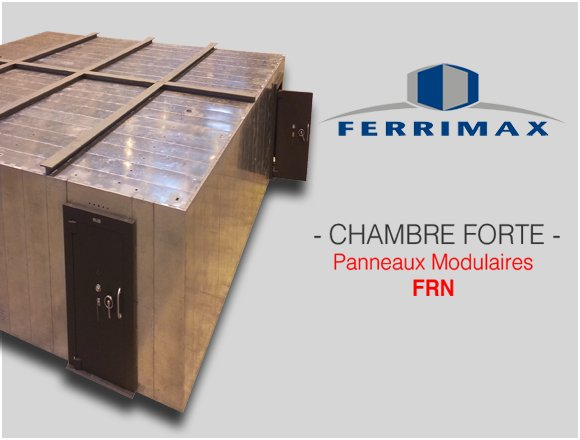 Chambre-forte Ferrimax FRN modulaires