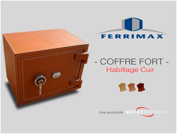 Finition cuir coffres-forts